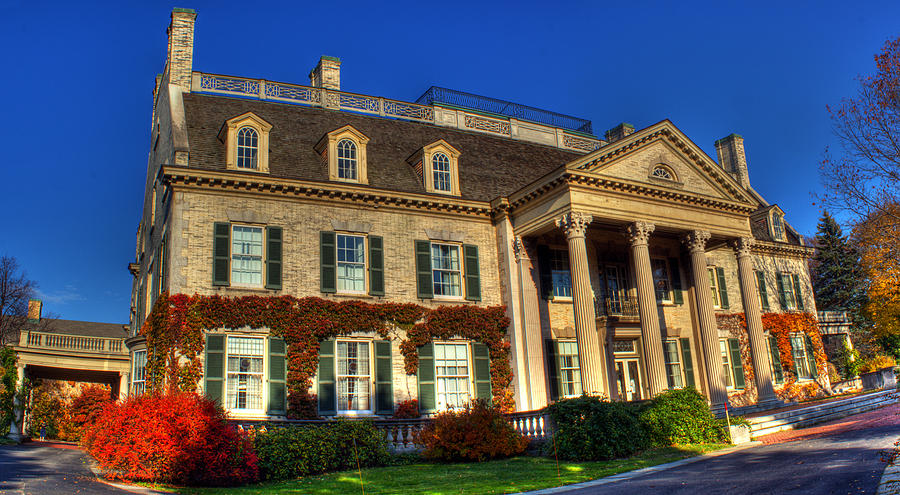 Mansion Photograph - George Eastman House Hdr by Tim Buisman