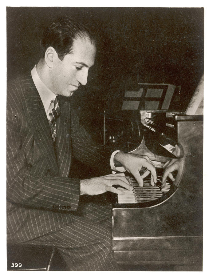 George Photograph - George Gershwin  American Composer by Mary Evans Picture Library