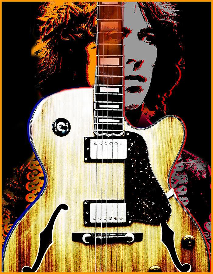 Music Digital Art - George Harrison by Larry Butterworth