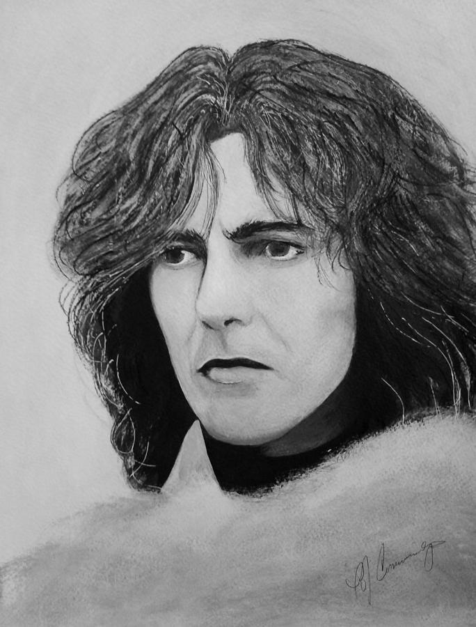 George Harrison Painting - George Harrison by Patricia Brewer-Cummings
