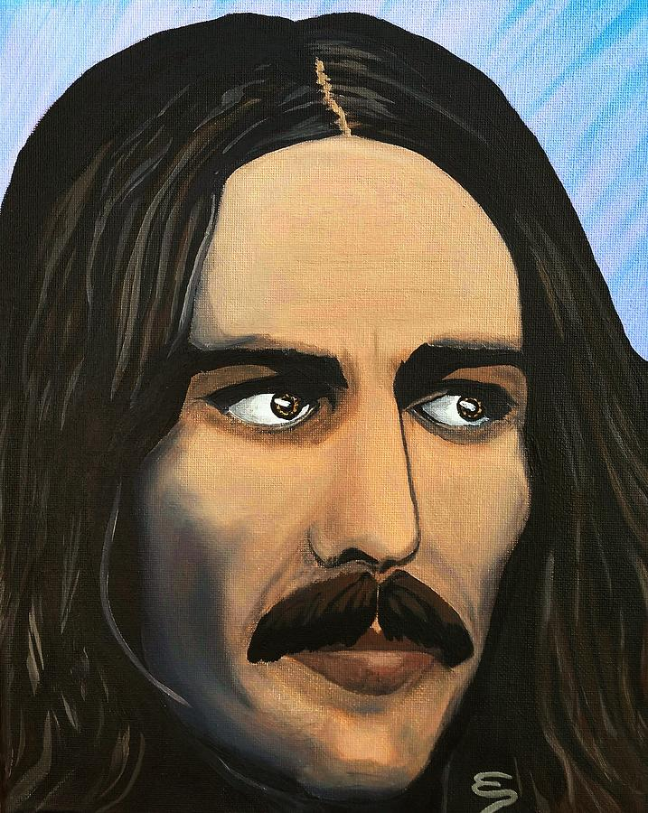 Icon Painting Painting - George Harrison The Mystic by Edward Pebworth