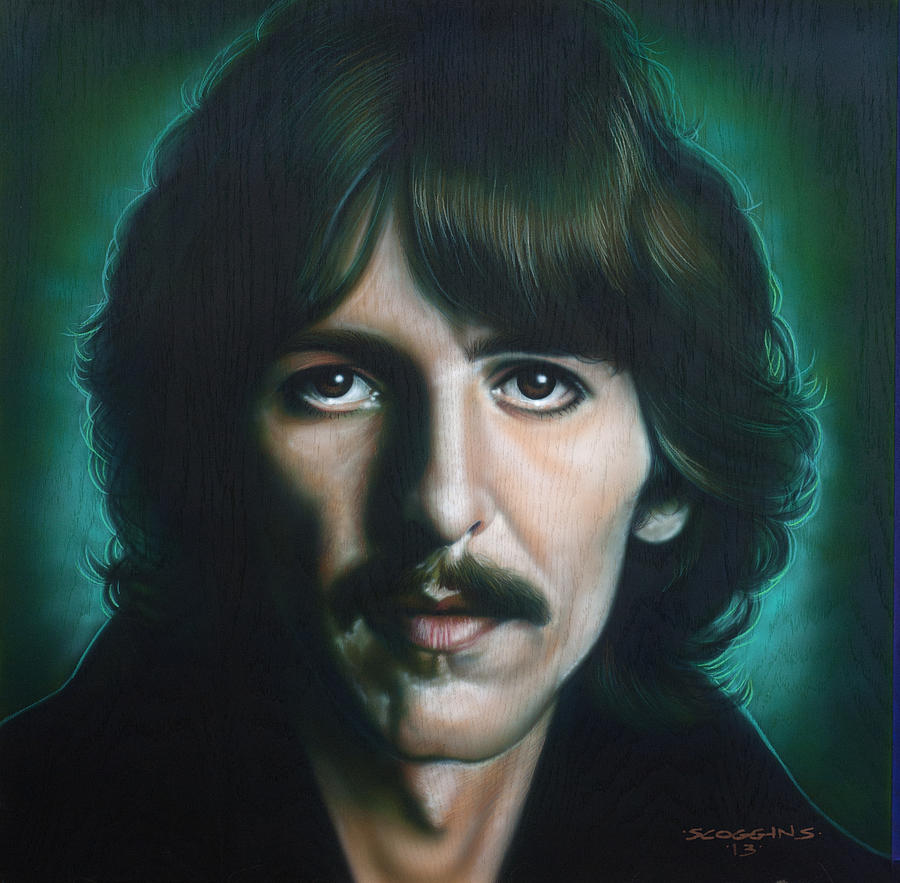 George Harrison Painting - George Harrison by Timothy Scoggins