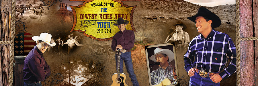 George Strait Photograph - George Strait Cowboy Rides Away by Retro Images