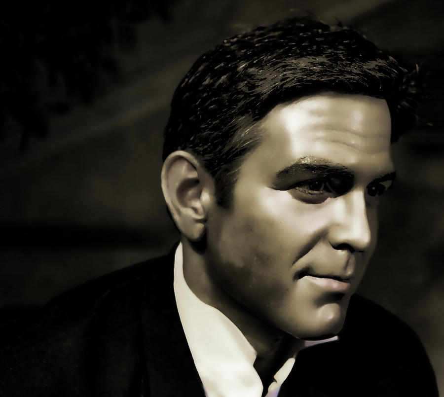 Actor Photograph - George Timothy Clooney by Lee Dos Santos