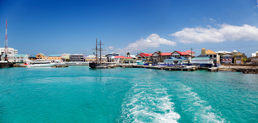 george town waterfront cayman islands photograph by jo ann