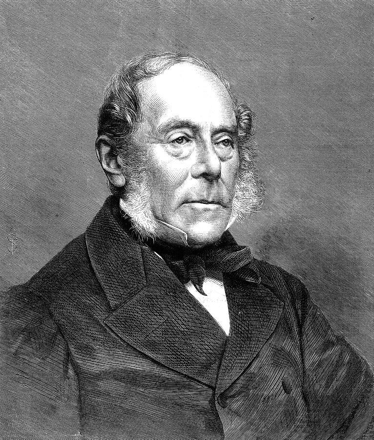 1870 Painting - George Villers (1800-1870) by Granger