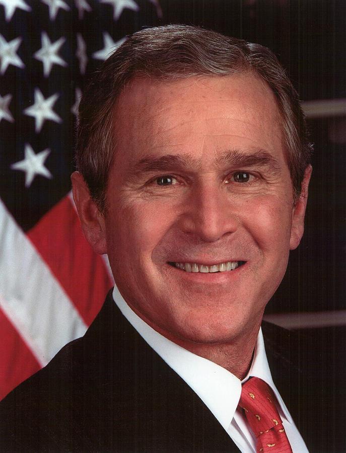 George W Bush Photograph - George W Bush by Official Gov Files