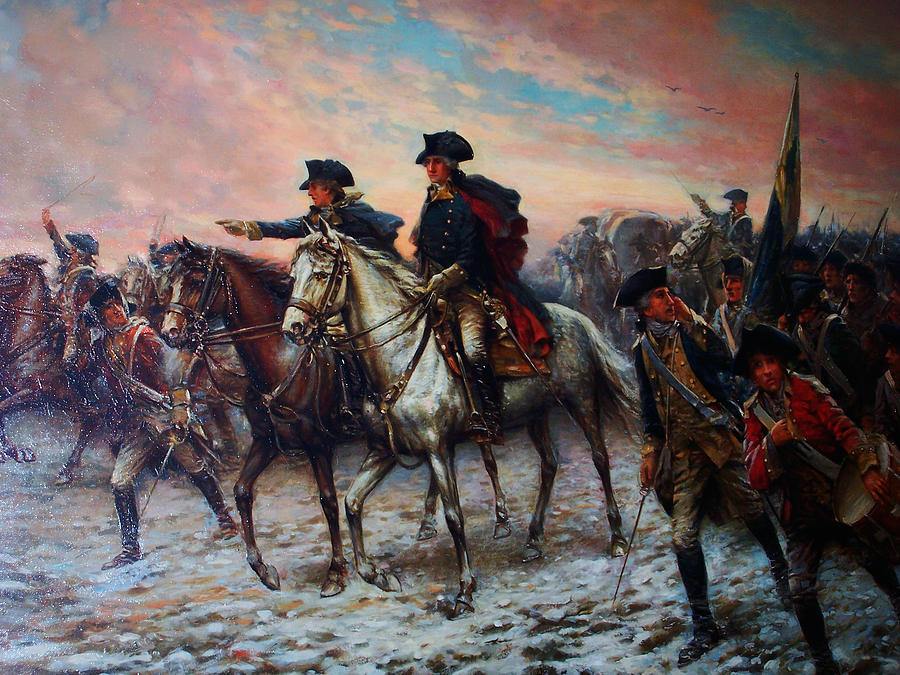 an overview of george washingtons escape from the british army at new york