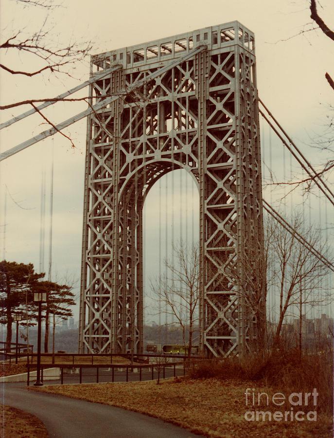 Bridge Photograph - George Washington Bridge by Nancie Johnson