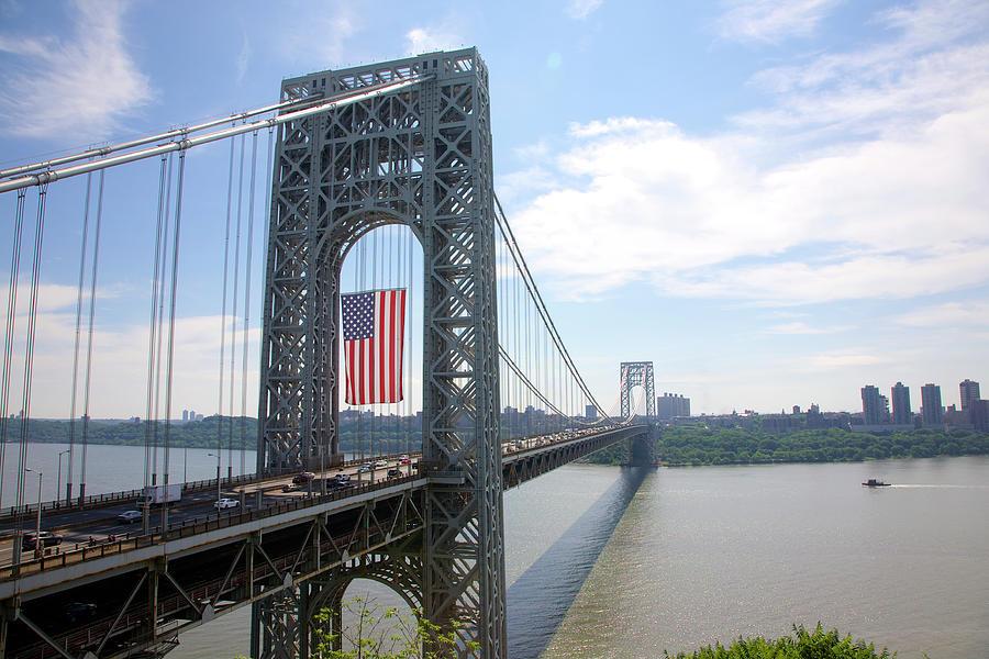 George Washington Bridge, New Yorknew Photograph by Barry Winiker