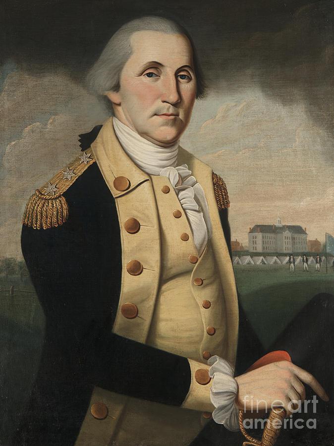 The President Painting - George Washington by Charles Peale Polk