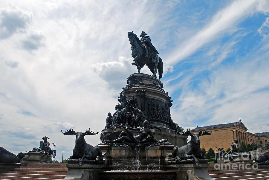 George Washington Statue by Scott D Welch