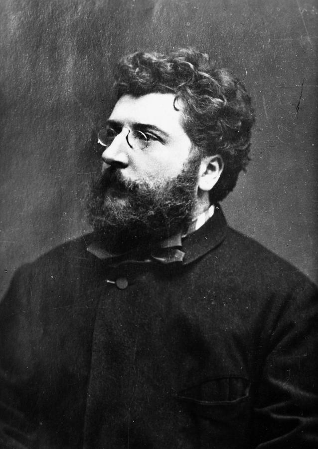 19th Century Photograph - Georges Bizet (1838-1875) by Granger