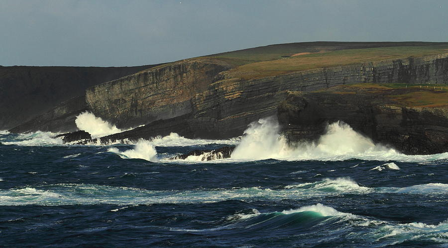 Georges Head Kilkee Photograph by Peter Skelton