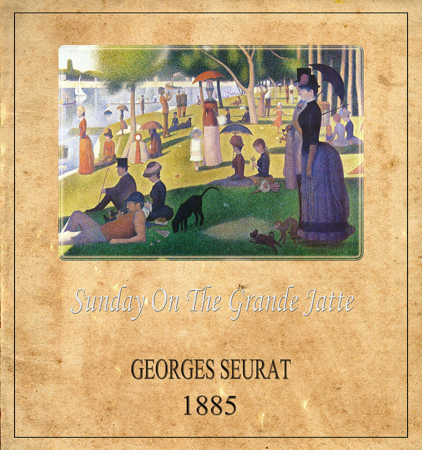 Seurat Photograph - Georges Seurat 2 by Andrew Fare