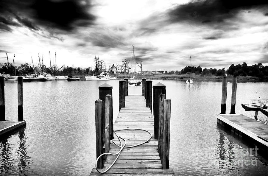Dock Photograph - Georgetown Dock by John Rizzuto