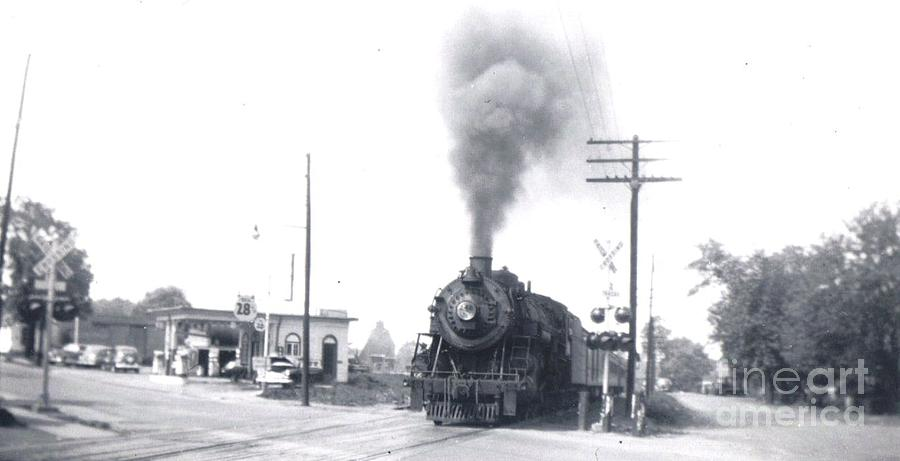 Georgetown Rd Crossing Photograph