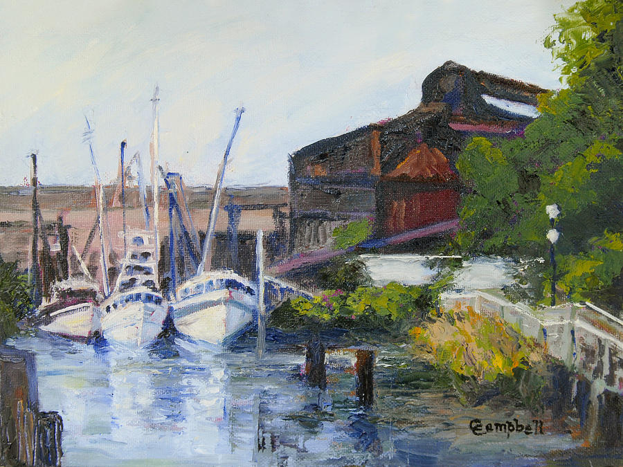 Georgetown Painting - Georgetown Steel Mill by Cecelia Campbell