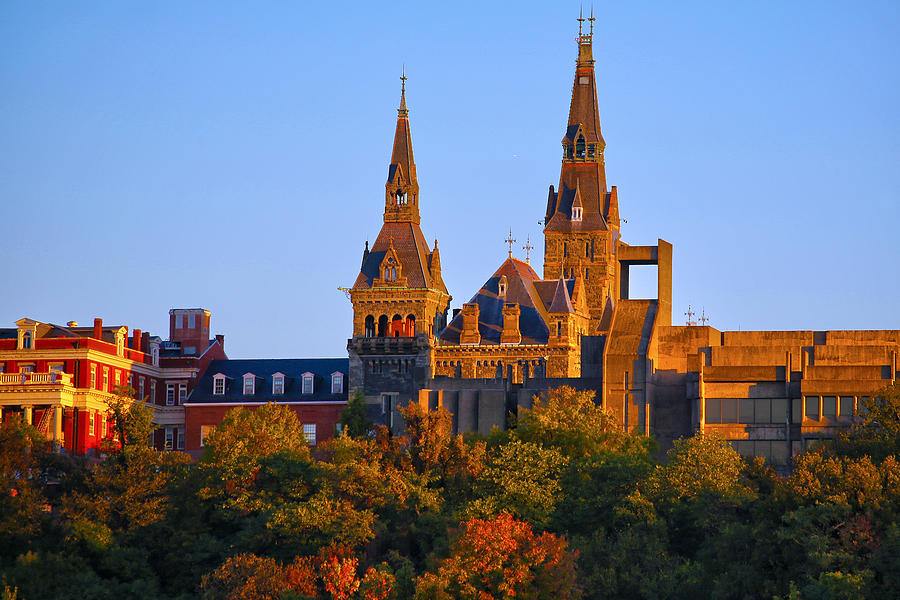 Georgetown University Photograph - Georgetown University by Mitch Cat