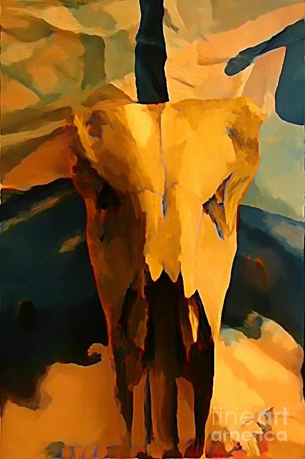 Georgia O'keeffe Painting - Georgia Okeeffe Influence In Nova Scotia Canada by John Malone