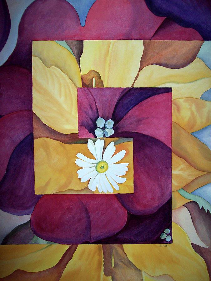 Keefe Painting - Georgia On My Mind I by Irina Sztukowski