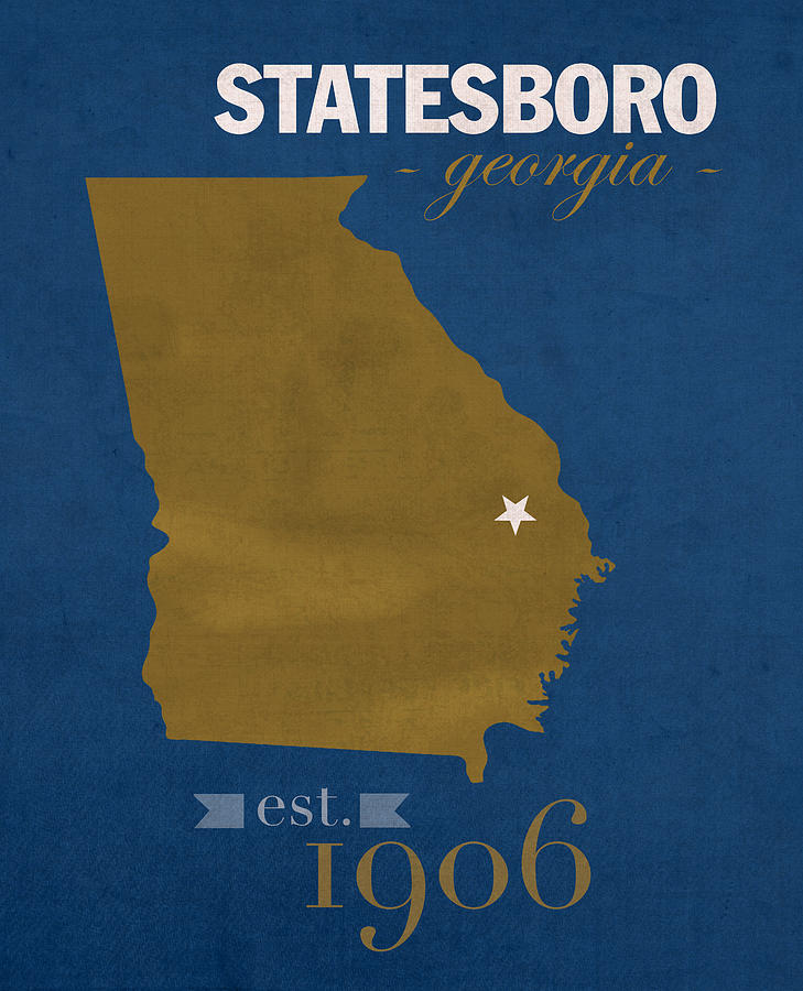 Georgia Southern University Eagles Statesboro College Town State Map on n.c. state map, gsu campus map, eastern kentucky map, northern colorado map, prairie view a&m map, southeast louisiana map, south carolina map, central methodist map, northern illinois map, augusta state map, dallas baptist map, northern iowa map, perry ga map, northern arizona map, george mason map, savannah state map, southeast us road map, downtown savannah ga map, alcorn state map, kennesaw state university campus map,