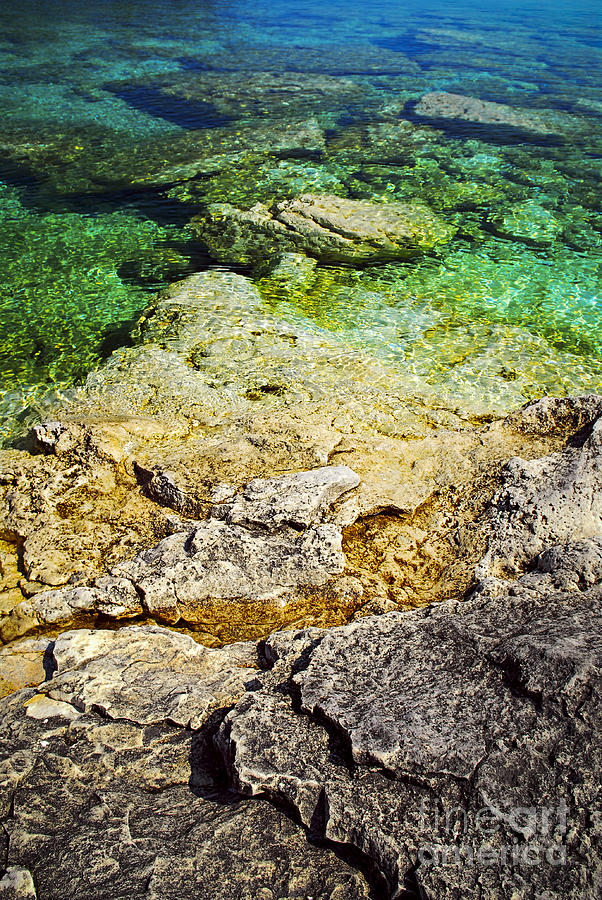 Georgian Bay Abstract Ii Photograph By Elena Elisseeva