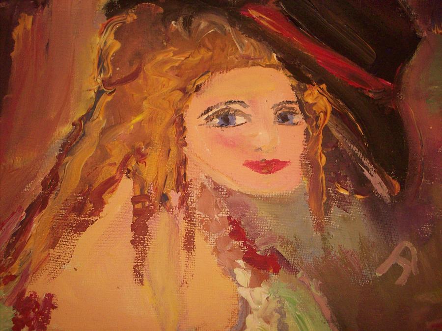 Female Painting - Georgiana by Judith Desrosiers