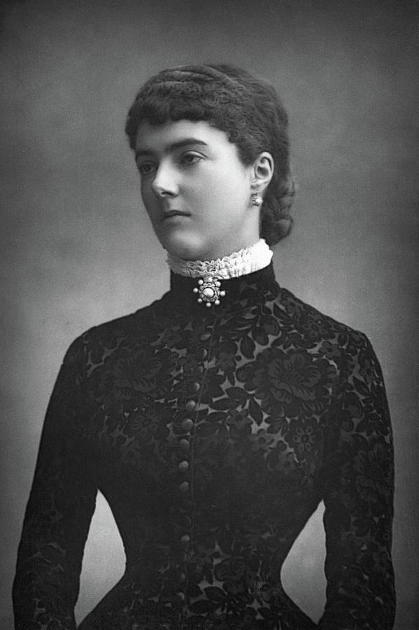 1890 Photograph - Georgina Ward (1846-1929) by Granger