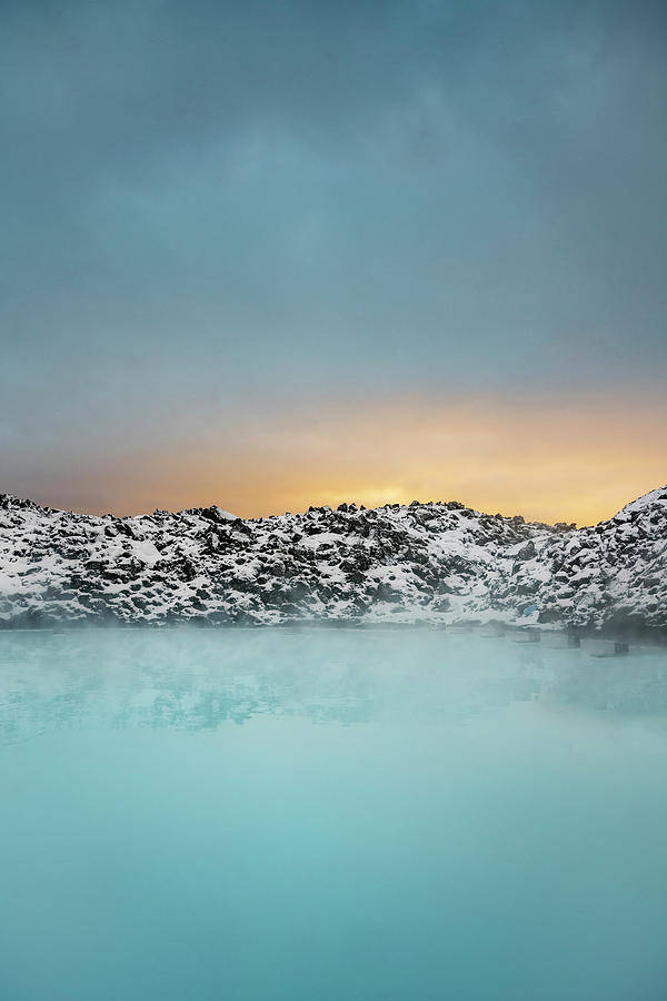 Geothermal Hot Springs, Blue Lagoon Photograph by Arctic-images