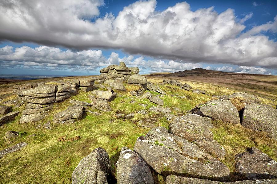 Ger Tor On Dartmoor Photograph by Nicolamargaret
