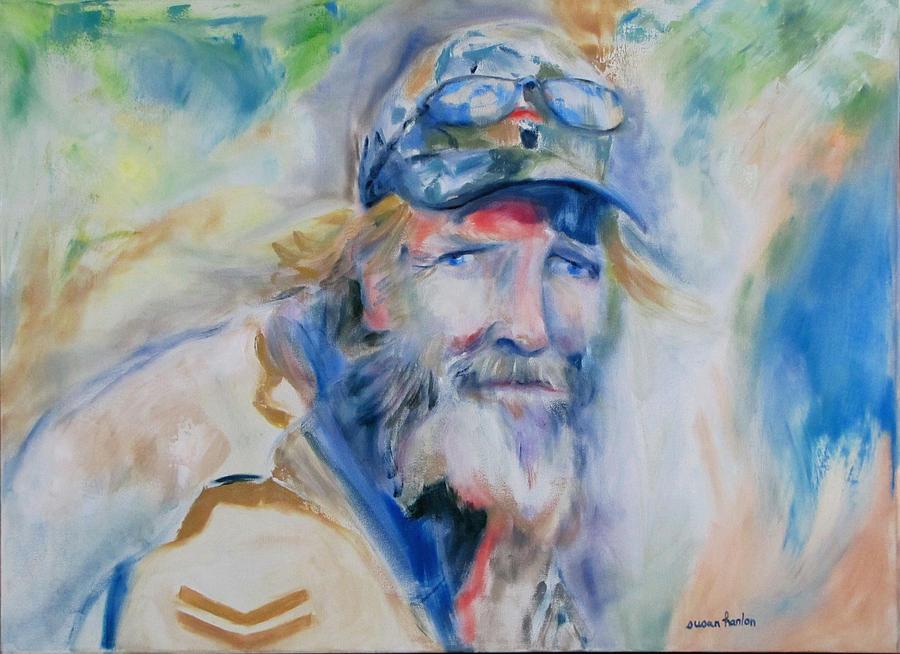 Vietnam War Vet Painting - Gerard by Susan Hanlon