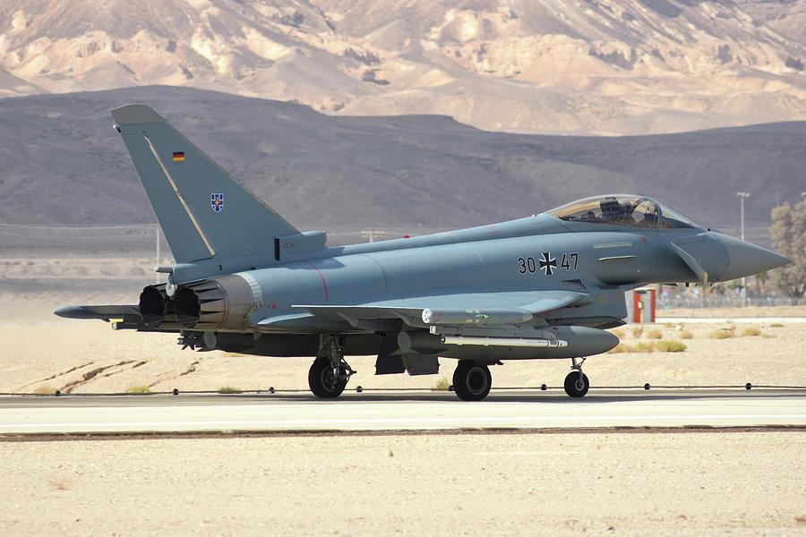 German Air Force Ef 2000 Typhoon by Riccardo Niccoli