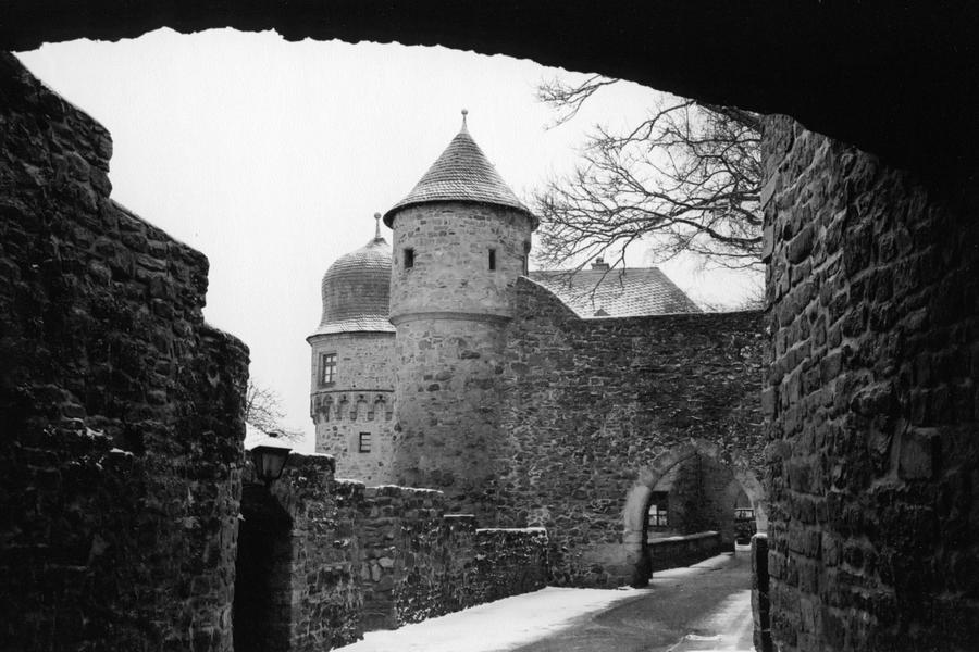 Castle Photograph - German Castle by Jessica Wakefield