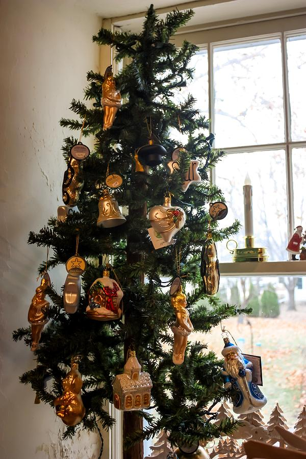 German Christmas Ornaments By Cynthia Woods