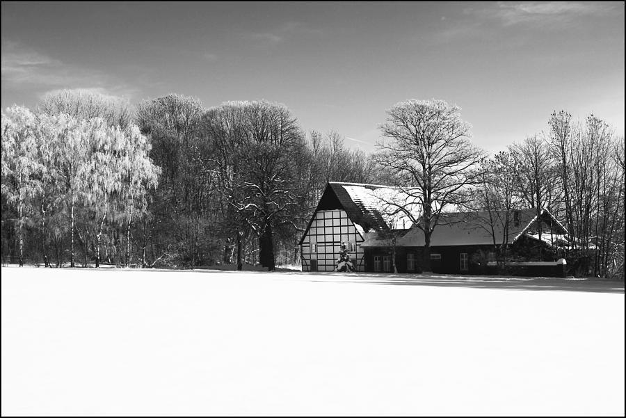 Farmhouse Photograph - German Farmhouse by Tarkan Rosenberg