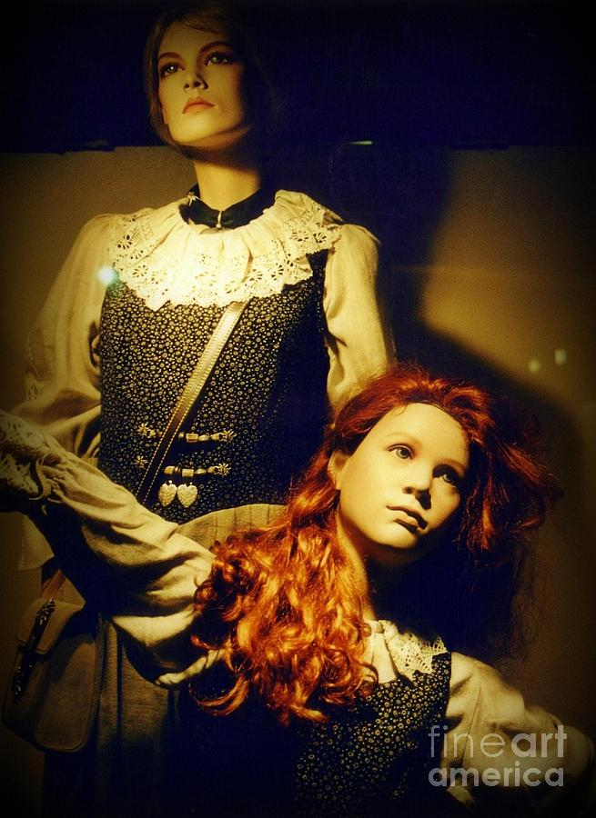 Mannequins Photograph - German Mannequins by Halifax Photography John Malone
