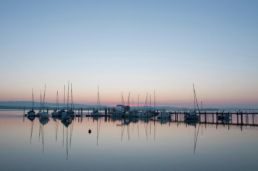 Germany, Baden Wuerttemberg, Jetty On Photograph by Westend61