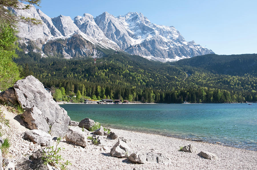 Germany, Bavaria, View Of Lake Eibsee Photograph by Westend61