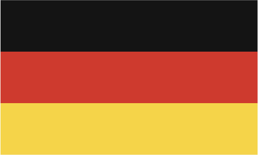 Germany Flag Drawing by Chokkicx