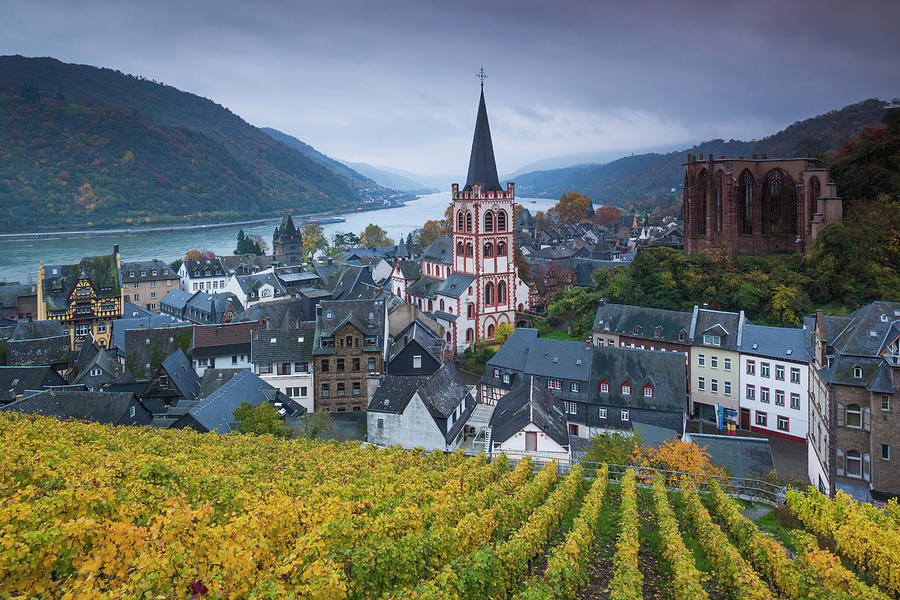 Germany, Rheinland-pfalz, Exterior Photograph by Walter Bibikow