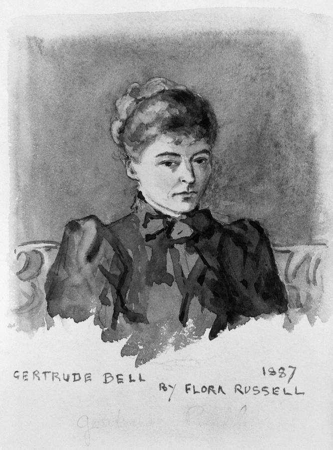19th Century Painting - Gertrude Bell (1868-1926) by Granger