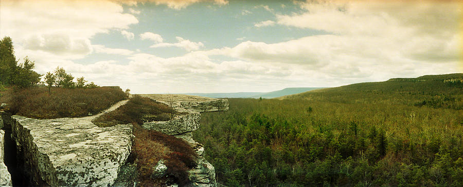 Color Image Photograph - Gertrudes Nose Hiking Trail by Panoramic Images