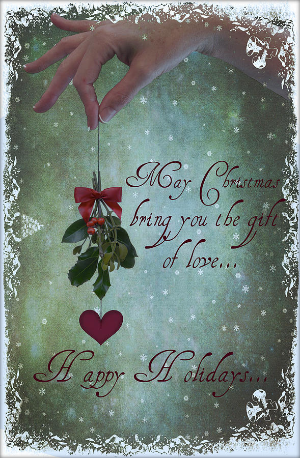 Christmas Digital Art - Get Closer This Holiday Season by Marie  Gale