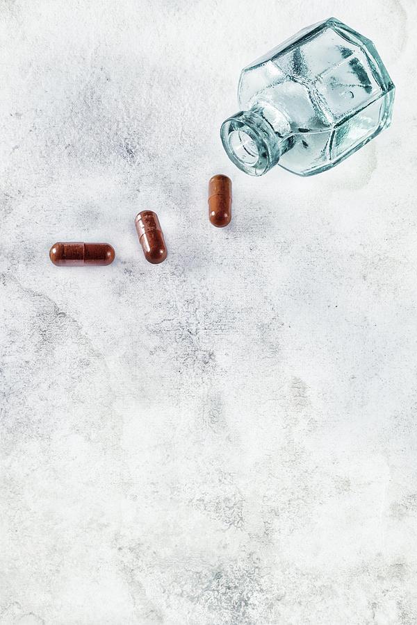 Pill Photograph - Get Well Soon by Joana Kruse