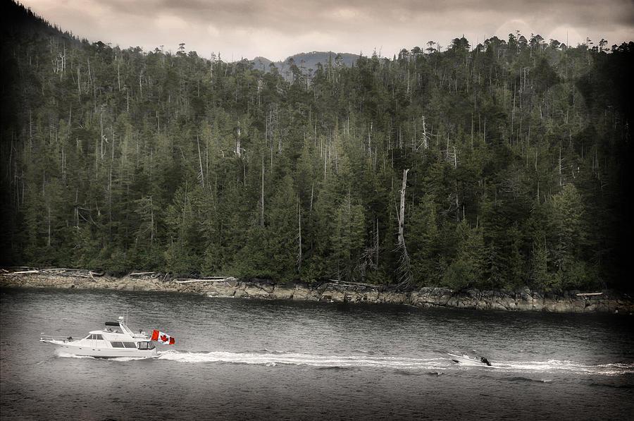 Canada Photograph - Getting A Tow In Canada by Davina Washington