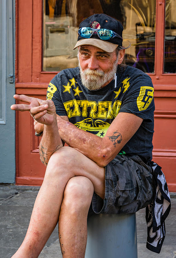 French Quarter Photograph - Getting By by Steve Harrington