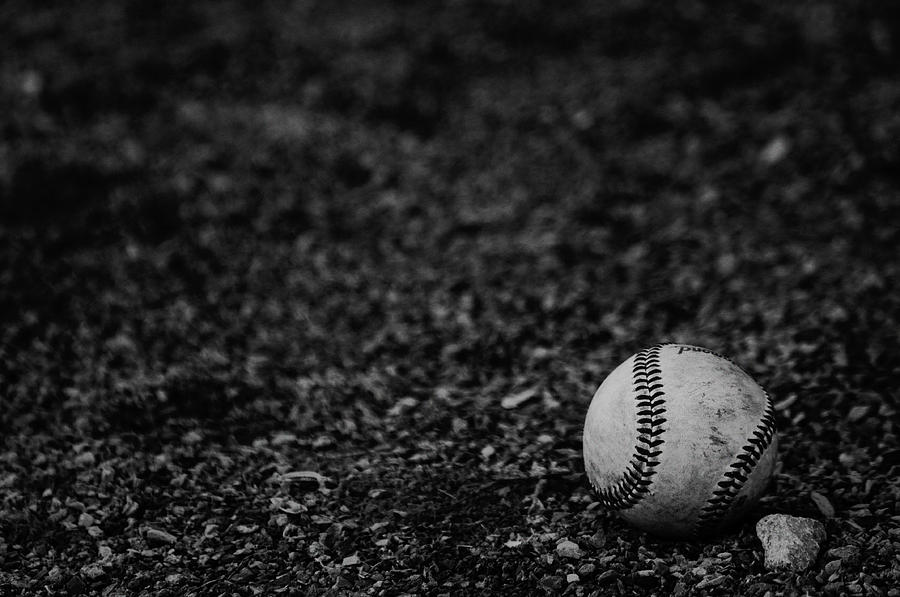 Baseball Photograph - Getting Ready For Summer by Zachary Hitchcock