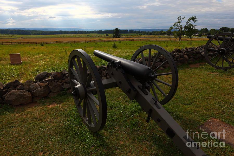 Gettysburg Photograph - Gettysburg Battlefield Historic Monument by James Brunker