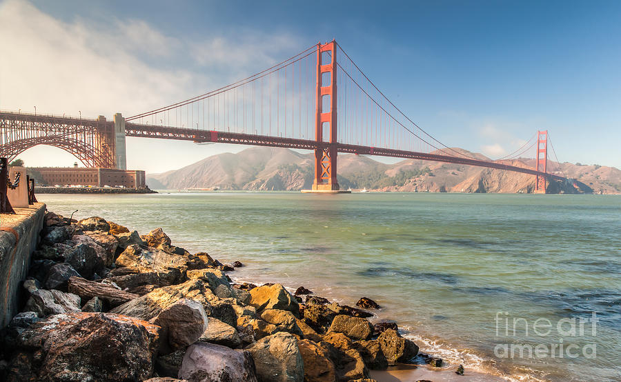 GG Bridge  by Charles Garcia